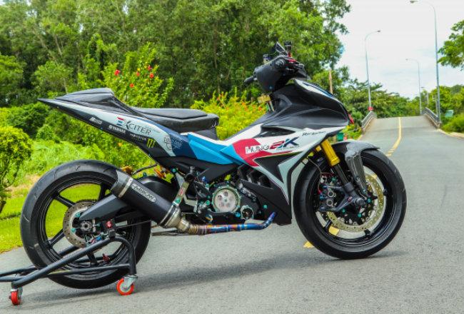 Cận cảnh Yamaha Exciter độ hút sinh khí từ các môtô hàng khủng - Hình 19