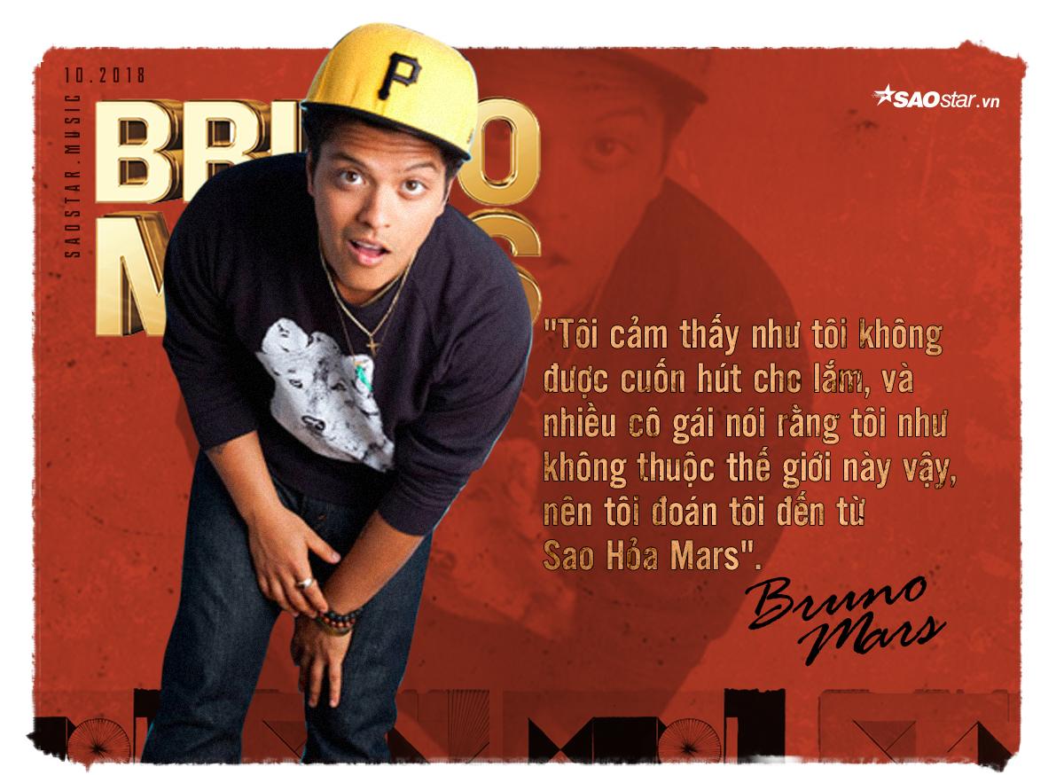 Chàng trai đến từ Sao Hỏa Bruno Mars với lòng nhiệt thành cùng âm nhạc! - Hình 2