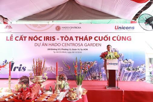 HaDo Centrosa Garden cất nóc Block Iris vượt tiến độ 4 tháng - Hình 2