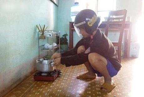 Khi đàn ông vào bếp thì các chị em chỉ có choáng thôi - Hình 14