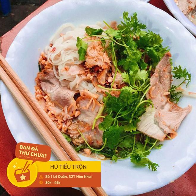 Không cần phải vào đến Sài Gòn, ở ngay Hà Nội thôi bạn cũng có thể tìm thấy thật nhiều loại hủ tiếu rồi này - Hình 6