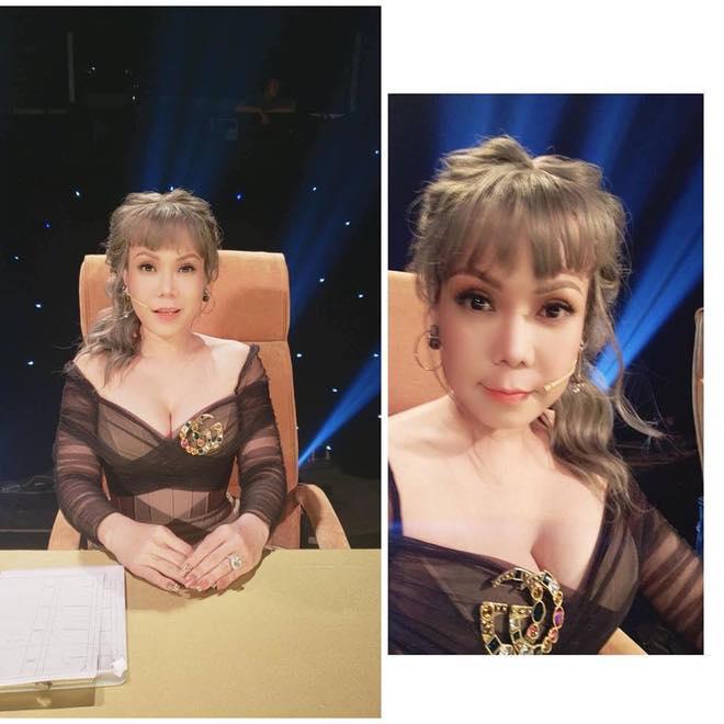 Make up và Photoshop quá đà, Việt Hương bị dân mạng mỉa mai già mà còn đua đòi - Hình 2