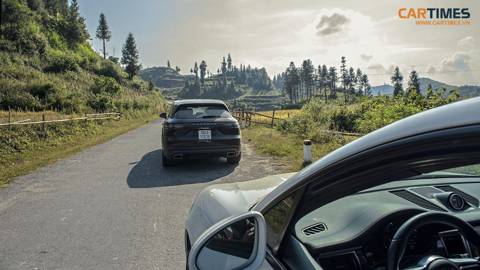 Porsche Cayenne và hành trình tìm vàng giữa lưng trời Đông Bắc - Hình 9