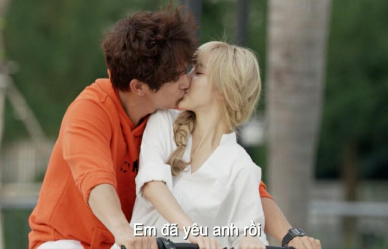 Sau cảnh hôn Khả Ngân trong Hậu Duệ Mặt Trời phiên bản Việt, Song Luân hào hứng khoe chiến tích hôn nhiều mỹ nhân - Hình 9