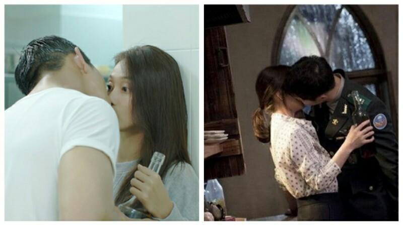 Sau cảnh hôn Khả Ngân trong Hậu Duệ Mặt Trời phiên bản Việt, Song Luân hào hứng khoe chiến tích hôn nhiều mỹ nhân - Hình 4
