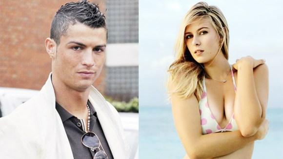 Ronaldo từng qua đêm với hoa hậu quần vợt Sharapova? - Hình 1