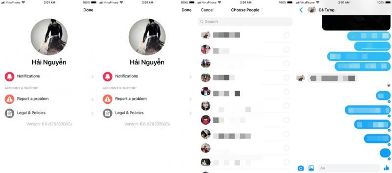 Facebook tiếp tục thử nghiệm phiên bản Messenger Lite trên iOS - Hình 1