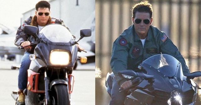 Hé lộ những hình ảnh phong độ của Tom Cruise trong phim Top Gun 2 - Hình 5