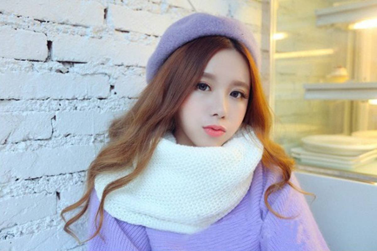 Những mẫu khăn quàng len siêu xinh cho nàng một mùa đông ấm áp - Hình 8