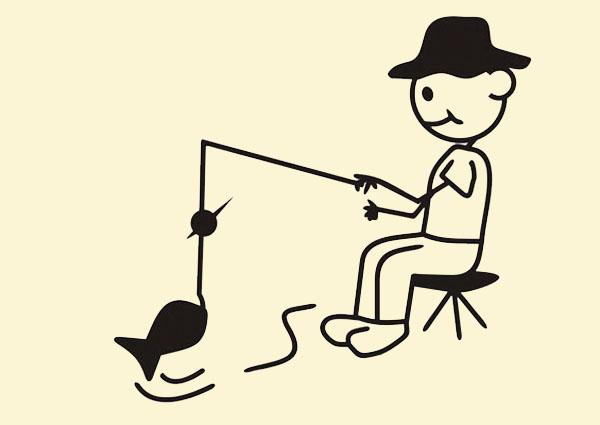 Tôi đi câu cá - Hình 1
