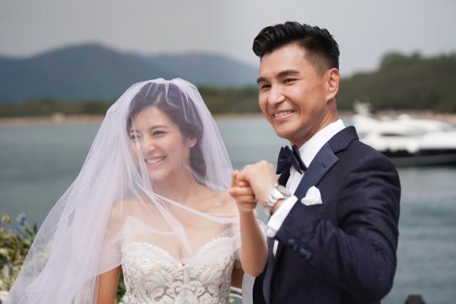 Lễ cưới trên du thuyền của tài tử TVB và người đẹp kém 13 tuổi - Hình 6