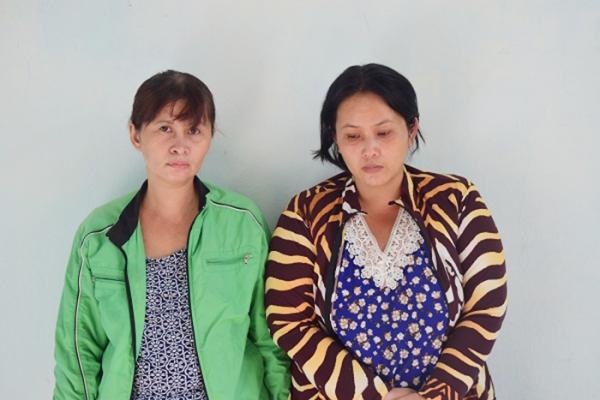 Huế: Bắt hai nữ quái dùng con gái ruột để đi trộm cắp - Hình 1