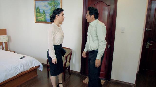 Cung đường tội lỗi tập 24: Bị phát hiện ngoại tình, bà Tuyết lên kế hoạch lấy mạng chồng - Hình 4