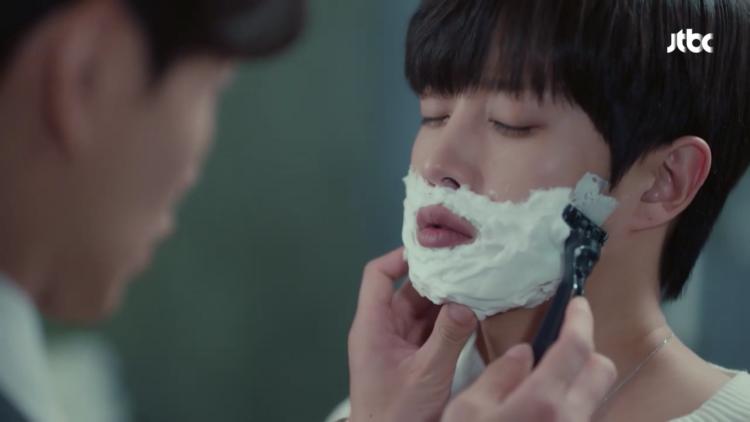 The Beauty Inside: Khán giả nói gì về cảnh cạo râu lãng mạn của Lee Min Ki và Kim Min Suk? - Hình 11