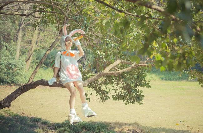 Cosplay Teemo Thỏ Phục Sinh siêu đáng yêu - Hình 6