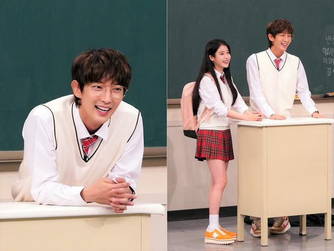 Sợ mình... nhạt, IU phải rủ thêm Tứ ca Lee Jun Ki đi show chung - Hình 1