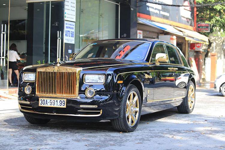 Soi Rolls-Royce Phantom rồng vàng, 35 tỷ tại Hải Phòng - Hình 6
