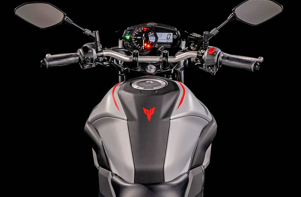 Yamaha MT-03 2019 thêm sắc màu thời trang - Hình 7