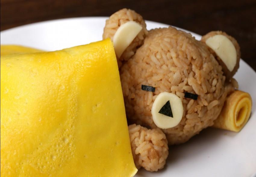 Mách bạn món cơm gấu con đắp chăn trứng rán vừa ngon vừa dễ thương - Hình 1