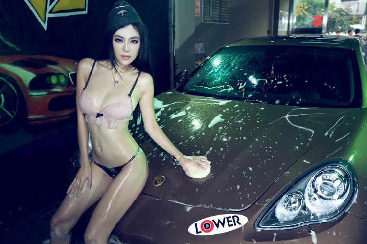 Ngắm mỹ nữ gợi cảm rửa xe làm ngây ngất ánh nhìn - Hình 9