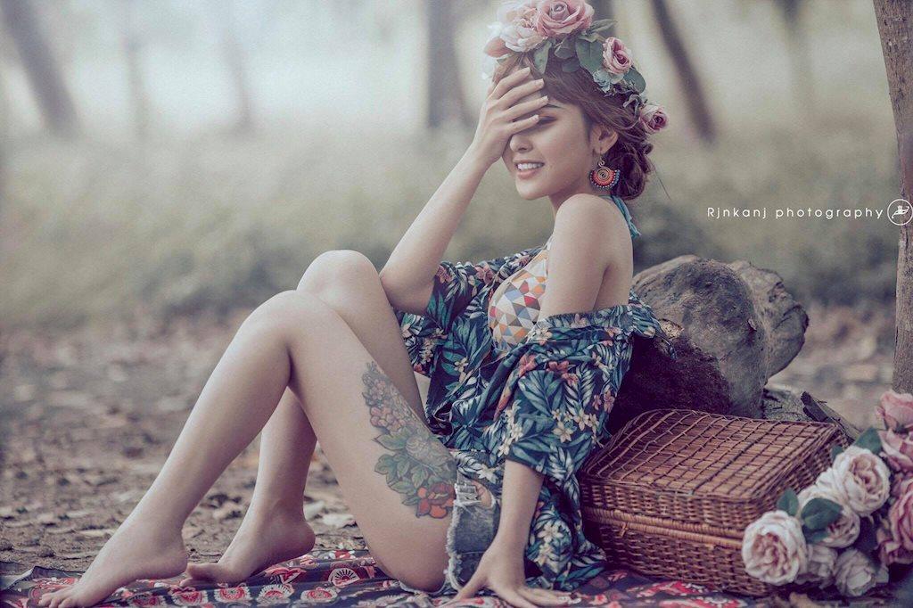 Hot girl Tâm Chibi hóa nàng công chúa cổ điển siêu gợi cảm! - Hình 2