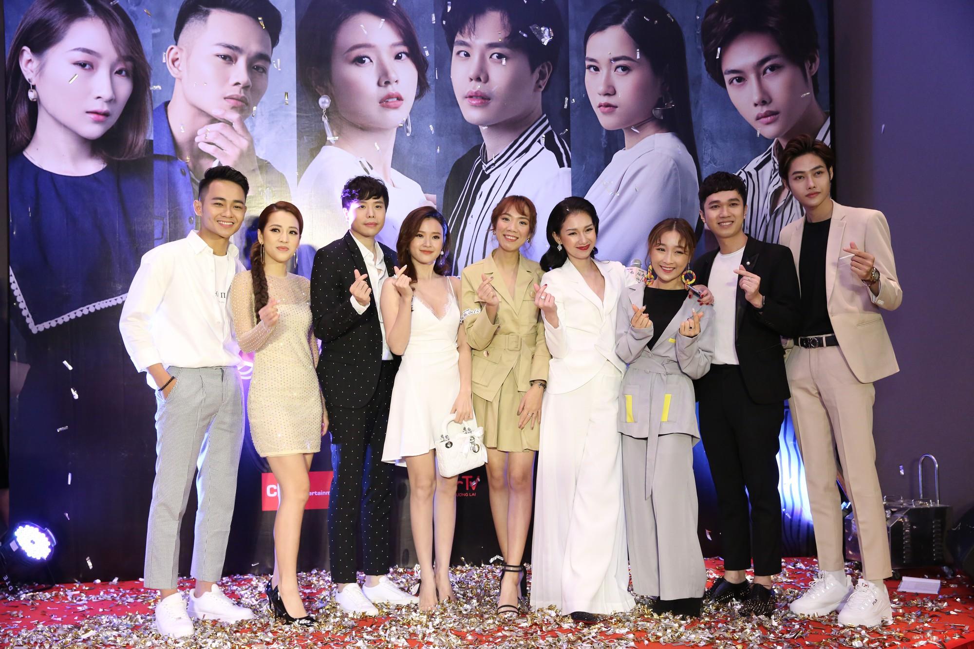Midu đẹp rạng rỡ bên Trịnh Thăng Bình tại họp báo ra mắt dự án phim đầu tay do MC Quỳnh Chi sản xuất - Hình 5