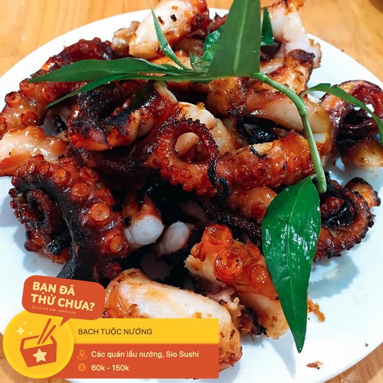 Ai mà nghĩ ở Hà Nội lại có ti tỉ món ăn kết hợp với bạch tuộc hay ho đến mức này - Hình 12