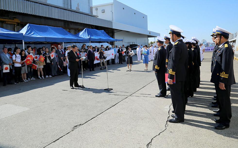 Chiến hạm Trần Hưng Đạo thăm thành phố Saikai - Nhật Bản - Hình 1