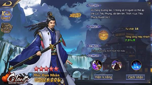 Top 5 vị hiệp khách ngon - bổ - rẻ trong Cổ Long Quần Hiệp Truyện mà người chơi mới nên chiêu mộ - Hình 4