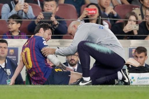 Nóng: Messi tập luyện, ngày trở lại không còn xa - Hình 1