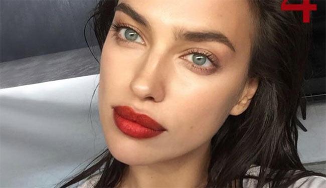 Khuôn mặt hoàn mỹ, khuôn ngực gợi cảm của Irina Shayk - Hình 3
