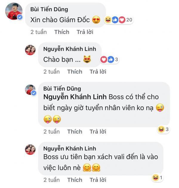 Cô chủ khách sạn công khai tình cảm với Bùi Tiến Dũng U23 Việt Nam - Hình 2