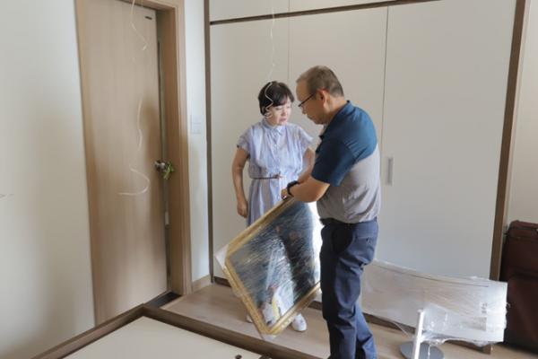 HLV Park Hang Seo và vợ chuyển về nhà mới - Hình 4