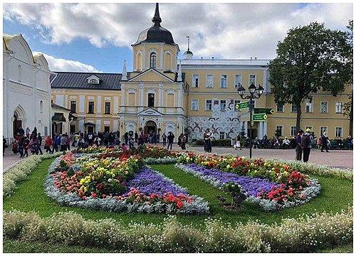 Vẻ đẹp bình yên ở vùng ngoại ô nước Nga - Hình 1
