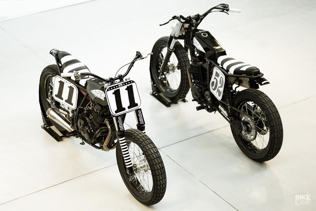 Bộ đôi Suzuki và Honda độ phong cách Flat Tracker từ Italy - Hình 3