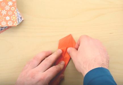 Cách gấp con nhện bằng giấy - Hình 9