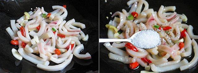 Cách làm món mực xào bí xanh ngon cho bữa cơm chiều - Hình 2