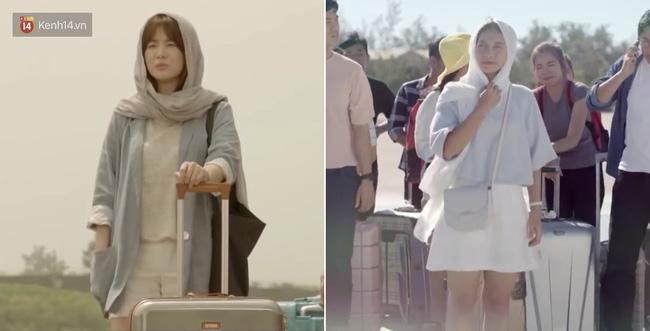 Có tâm như Khả Ngân: Đóng phim remake là cũng diện luôn trang phục giống Song Hye Kyo cho vẹn toàn - Hình 8