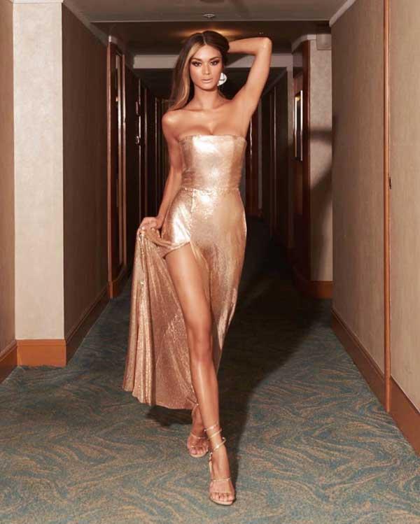 Hoa hậu Pia Wurtzbach khoe đường cong nóng bỏng - Hình 4