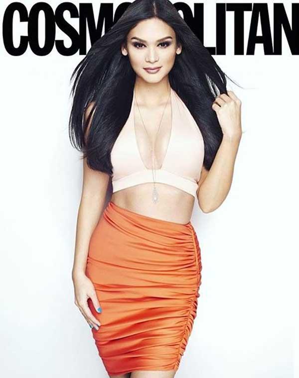 Hoa hậu Pia Wurtzbach khoe đường cong nóng bỏng - Hình 1