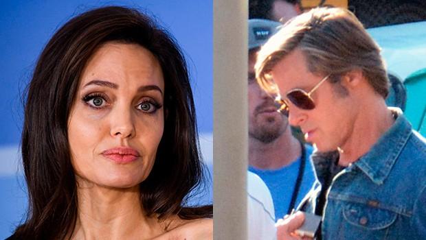 Angelina Jolie lòng đau nhói khi nhìn Brad Pitt ôm thân mật với bạn diễn nữ? - Hình 5