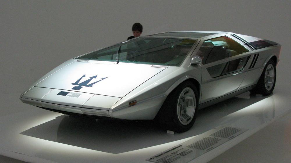 Maserati Boomerang - Siêu xe concept cực ngầu nhưng tiếc là không được thương mại hóa - Hình 1