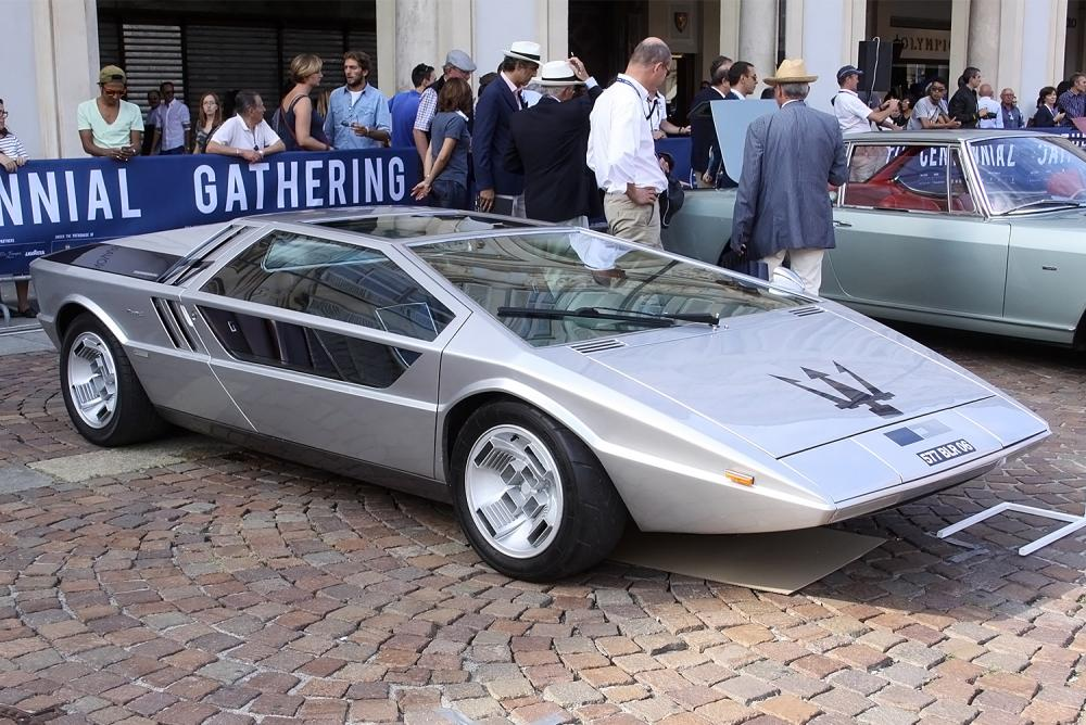Maserati Boomerang - Siêu xe concept cực ngầu nhưng tiếc là không được thương mại hóa - Hình 2