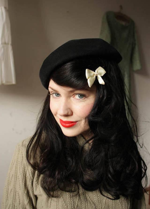 Muốn đội mũ beret đẹp đúng chuẩn thời trang nàng cần biết điều này - Hình 3