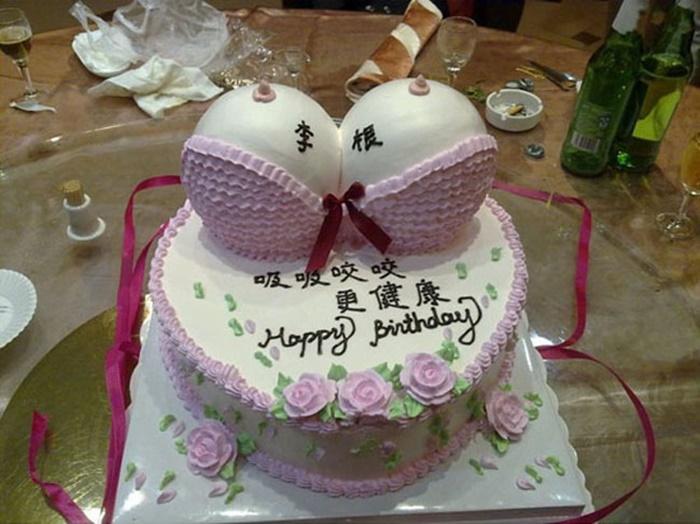 Những hình ảnh bánh sinh nhật hài hước ngộ nghĩnh - Hình 3