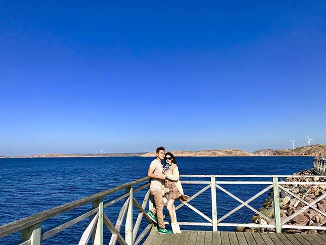 Vợ chồng Kha Ly - Thanh Duy hưởng tuần trăng mật sau 3 năm cưới - Hình 1