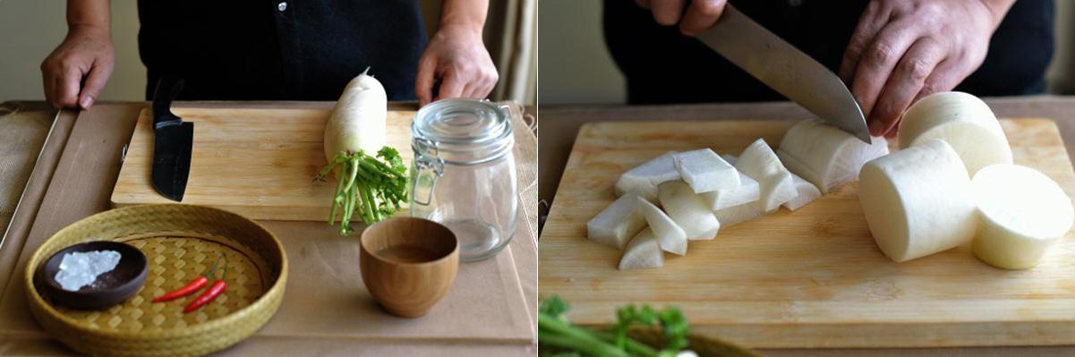 4 bước đơn giản làm củ cải muối chua ngọt ăn với gì cũng ngon - Hình 2