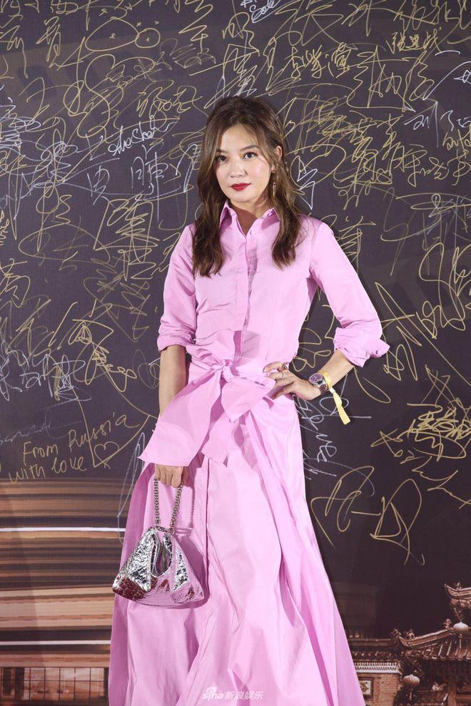 Thảm đỏ Bách Hoa: Triệu Vy sến rện với váy hồng chói, tình cũ Hồ Ca khoe vẻ đẹp băng thanh ngọc khiết - Hình 1