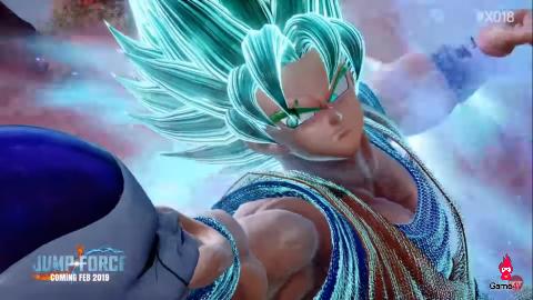 Super Saiyan Blue Goku, Vegeta và Golden Frieza sẽ gia nhập tựa game đa vũ trụ Jump Force - Hình 2