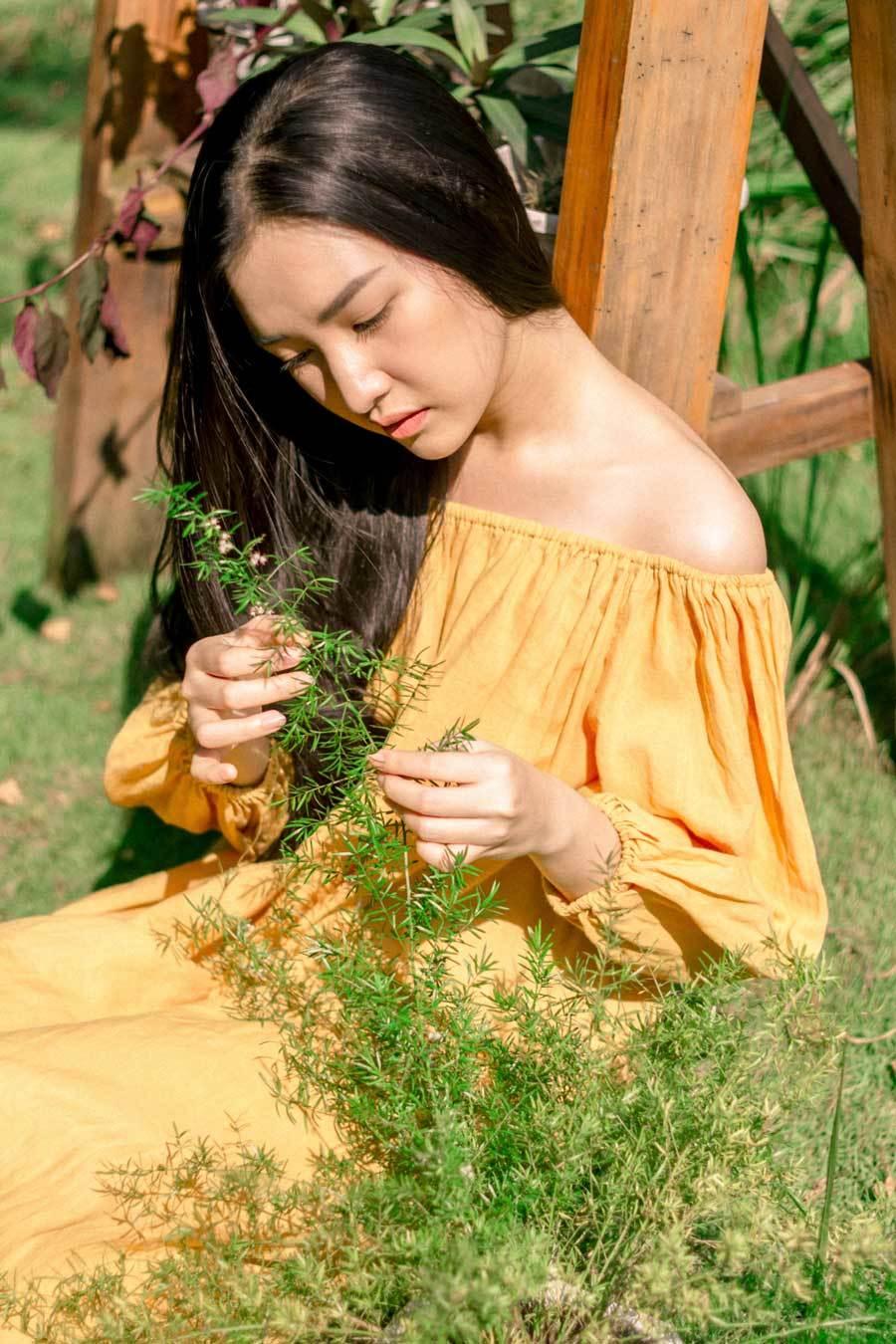Hoa khôi Ngọc Trân khoe vẻ tinh khôi trong khu vườn yên tĩnh - Hình 2